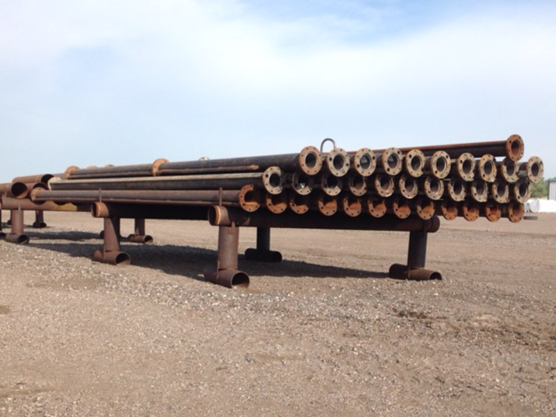 """6-5/8"""" Flanged Drill Pipe"""