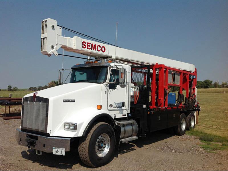 2014 SEMCO S30,000 Pump Hoist