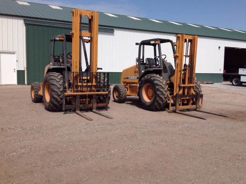 (2) 2012 CASE 586G Forklifts