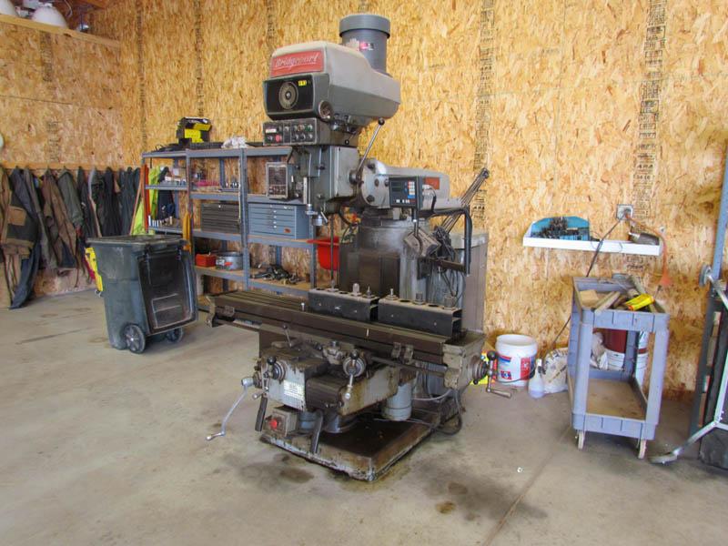 BRIDGEPORT Series II Mill