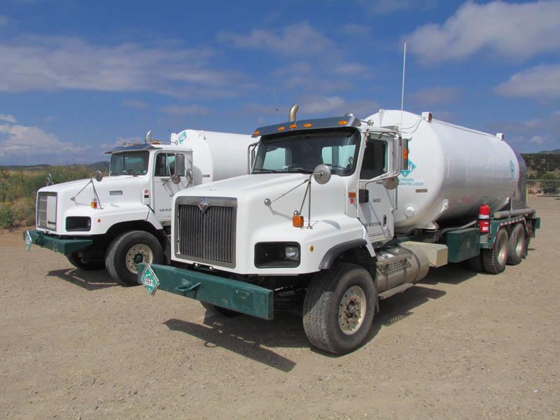 (2 of 4) INT'L Nitrogen Trucks