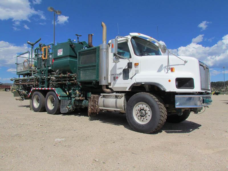 Cementing Pump Truck w/TWS-600S Triplex