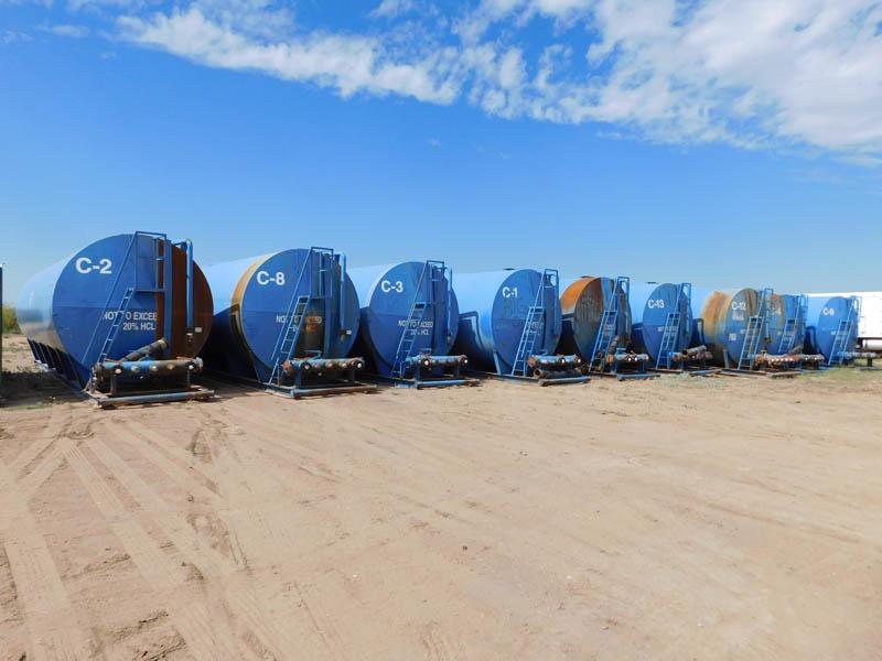 (11) 500 Bbl Acid Tanks – DY1 YD1
