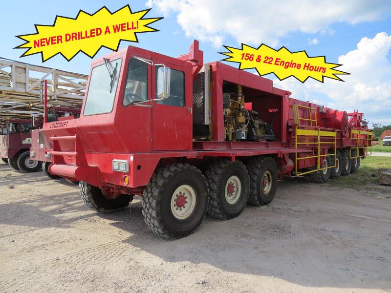 2008 LOADCRAFT 750HP Drilling Rig – DY2 YD4