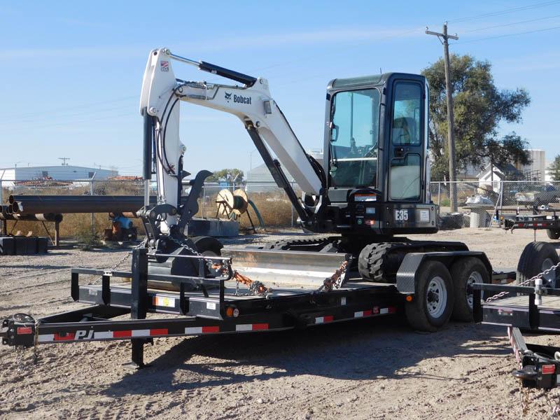 2015 BOBCAT E35 Mini Excavator - 221 Hours
