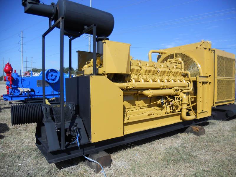CAT D-399 Engine w/Low Hours – YD1