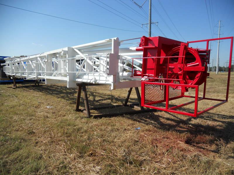 SKYTOP 95'H 180,000# Mast – YD1 UNUSED Since Rebuilt