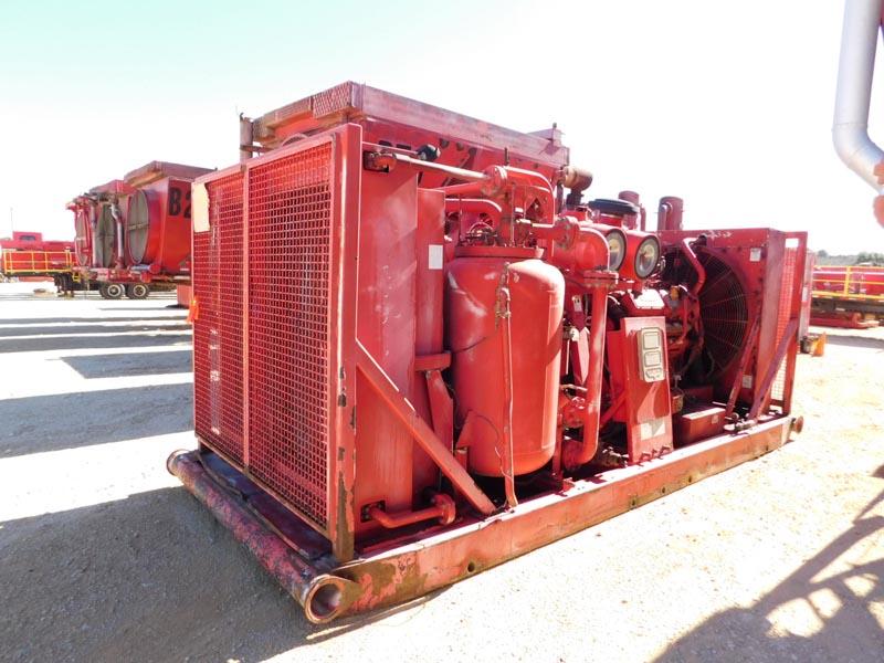 I.RAND XHP1250 Scat Air Compressor – DY1 YD 4