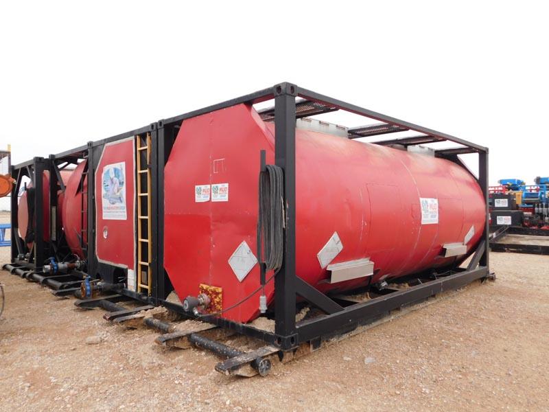 150-Bbl Steam Heater Tanks – DY1 YD1