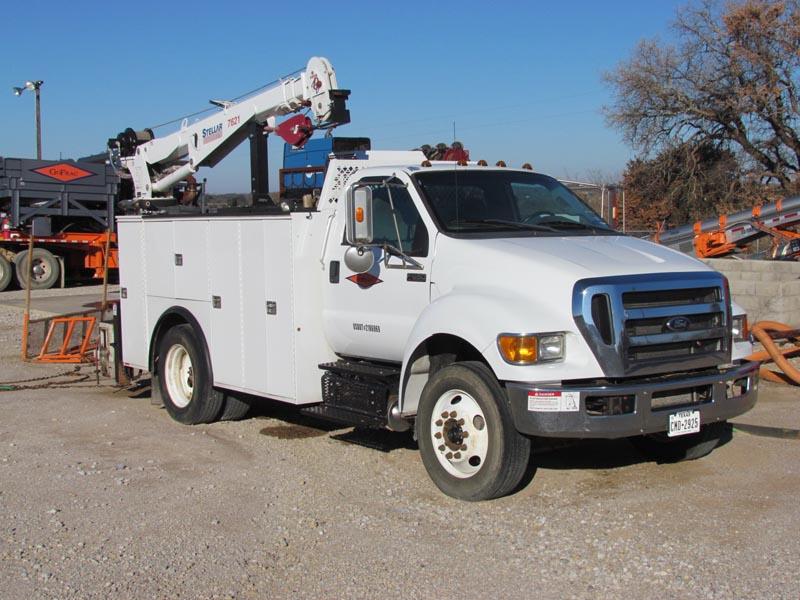 2015 FORD F-650 Mechanics Truck – DY1 YD3
