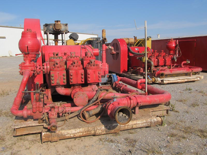 Rig #5 - (2) NATIONAL 10-P-130's – DY2 YD2