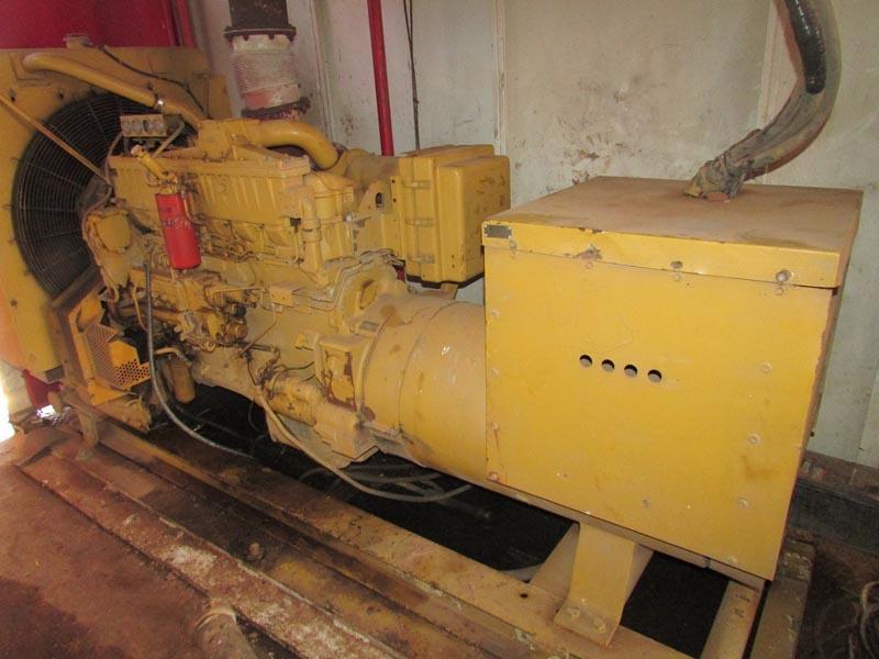 (2) CAT SR-4 Generator – DY2 YD2