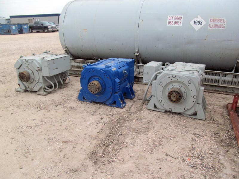 (3) Traction Motors – DY2 YD8