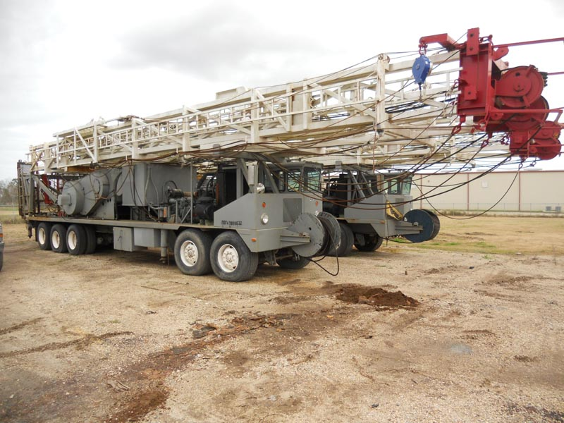 (2 of 4) Well Service Rigs – DY1 YD6