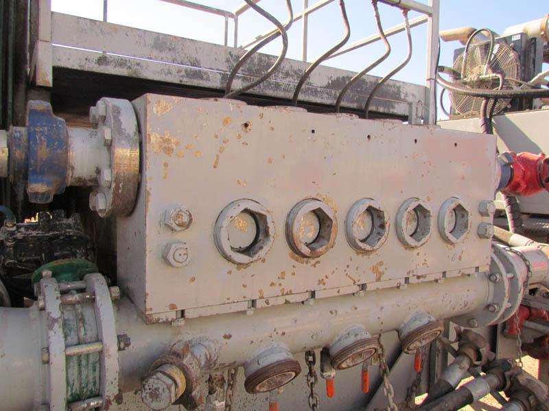 2014 WEATHERFORD Quintuplex Pump – YD3