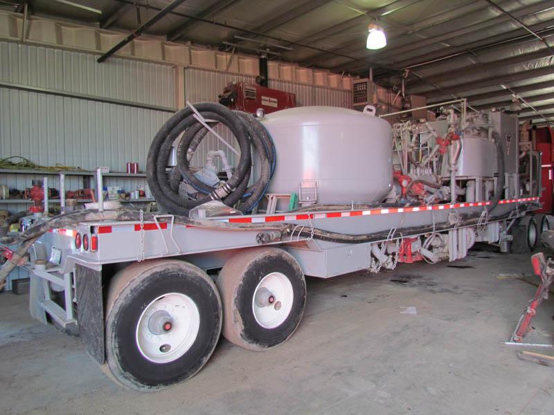 Cement RCM Pump Trailer w/NAT'L JWS-165 – YD3
