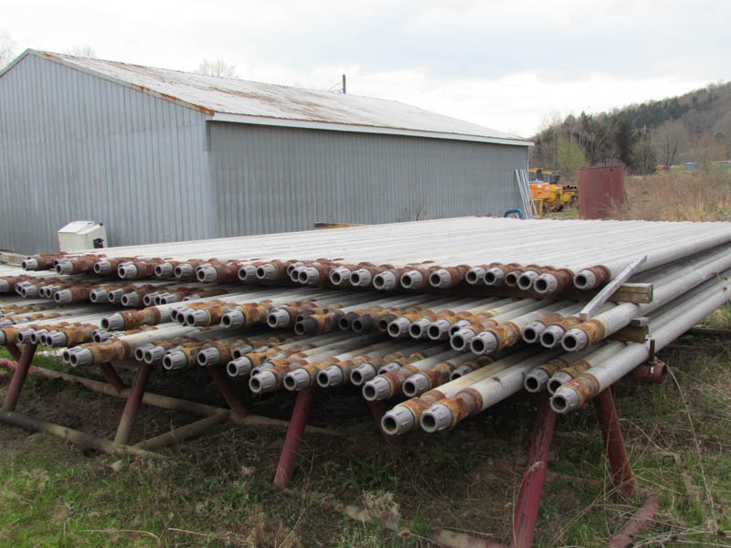 """4,860' 4-1/2"""" Rng 2 Aluminum Drill Rods – YD1"""