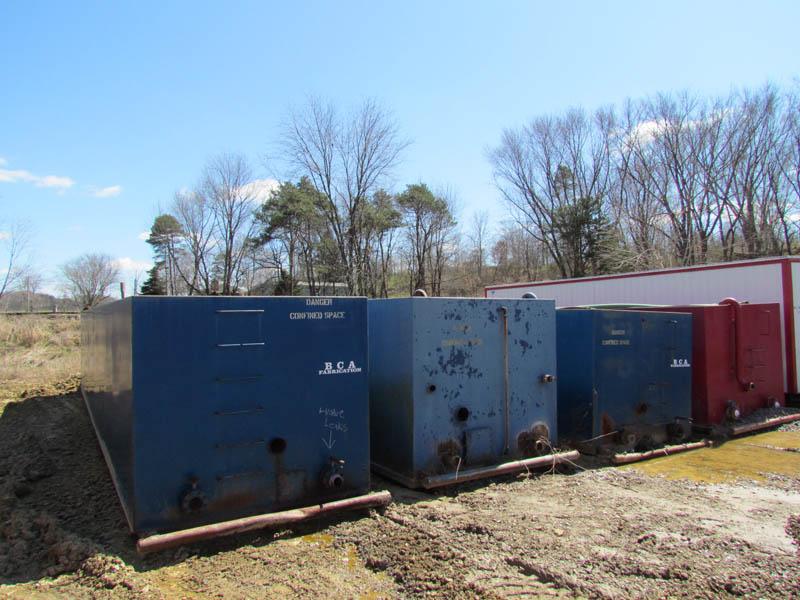 (4) 400-Bbl Water Tanks – YD1