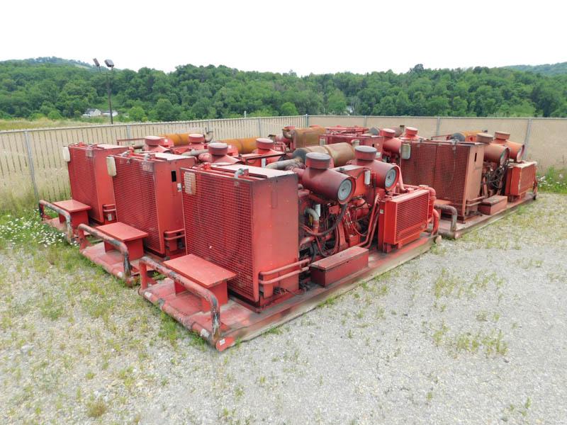 (6) I.RAND 1170/350 Air Compressors – YD5