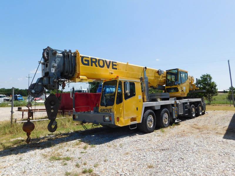 2000 GROVE TMS760E – DY1 YD7