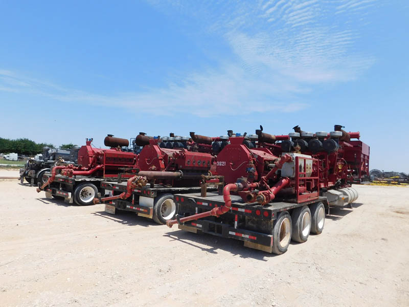 (5) 2014 DRAGON 2500 Frac Pumps – DY1 YD1