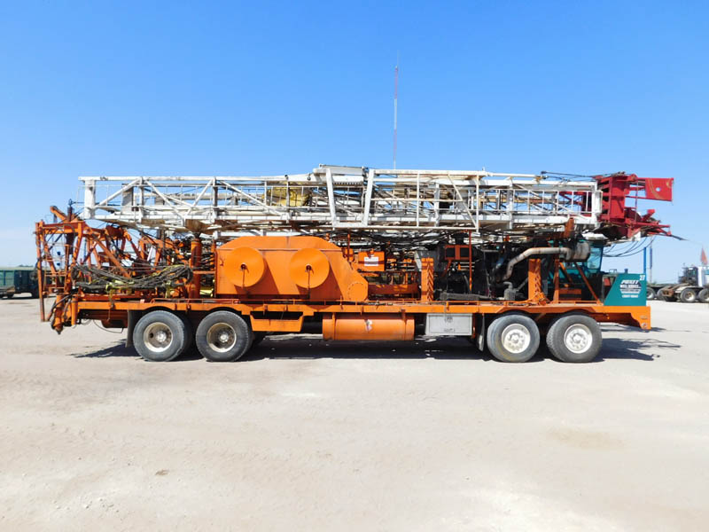 RMI D/D Well Service Rig (Last Worked July 2016) – YD1