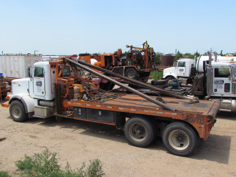 ''98 PETE 378 Rig-Up Truck – YD1