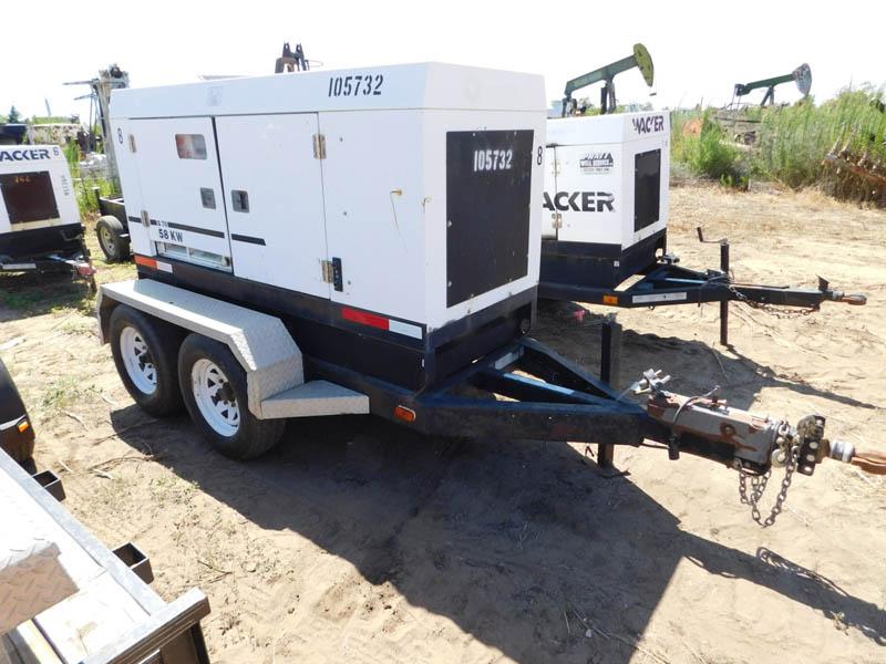 ISUZU 58 KW Portable Generator – YD1