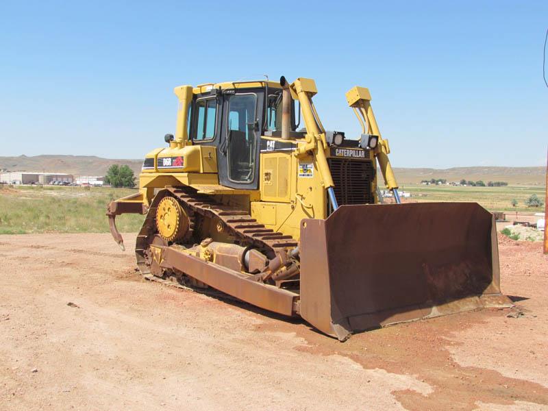 CAT D6R XL Crawler Tractor w/3-Shank Ripper – YD3