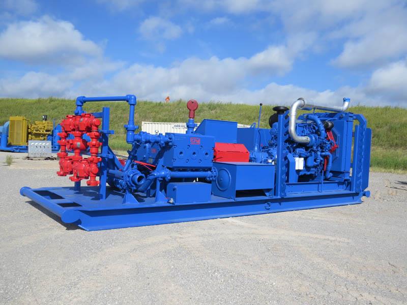 SPM 600 Triplex Pump – DY1 YD1