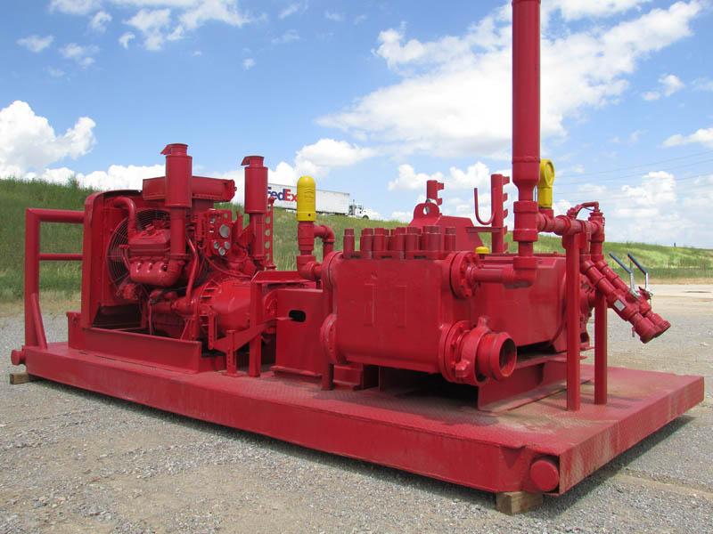 N.O.V. JWS-165 Triplex Pump – DY1 YD1