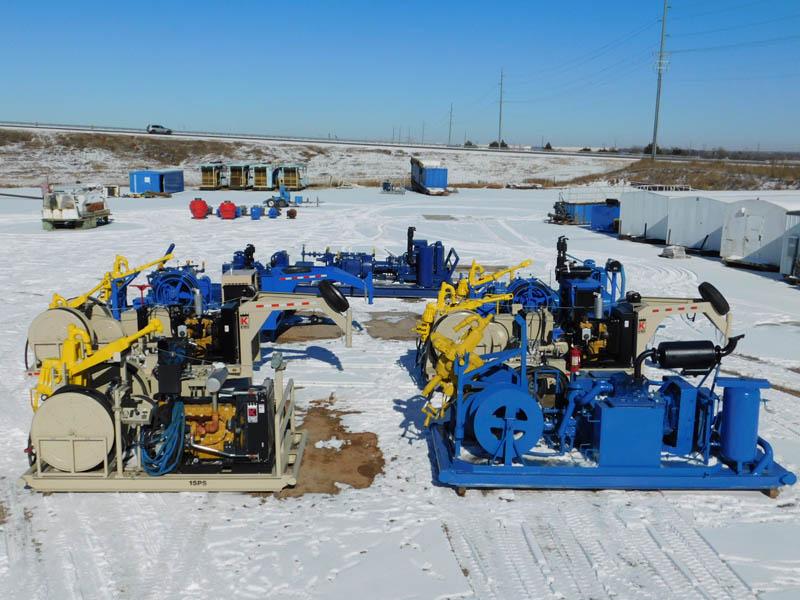 Well Service Power Swivels & Pumps – YD1