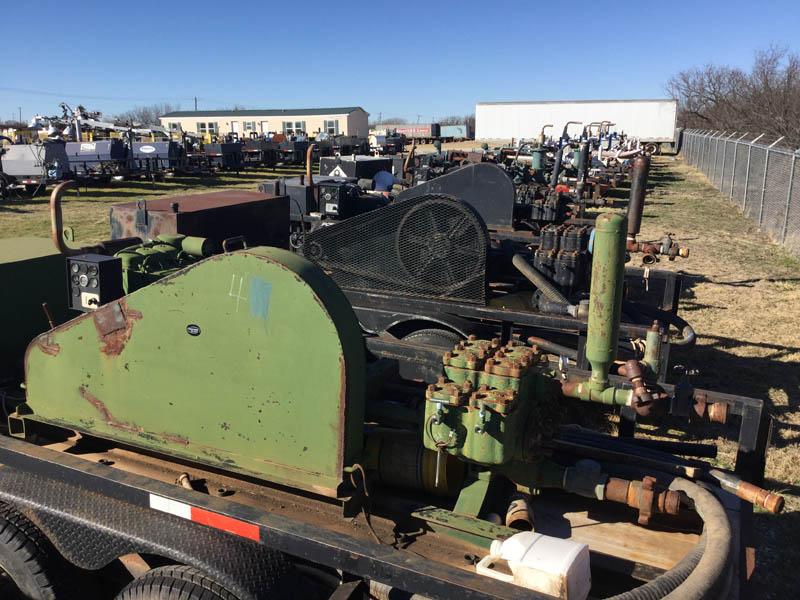Trailer Mtd Duplex Pumps – DY2 YD7