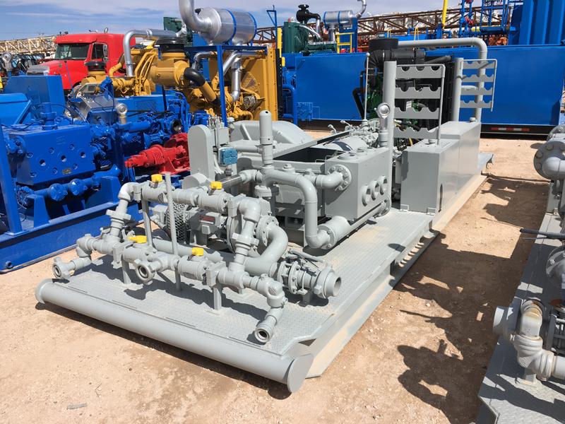 UNUSED G.DENVER TEE Triplex Pump – DY1 YD1