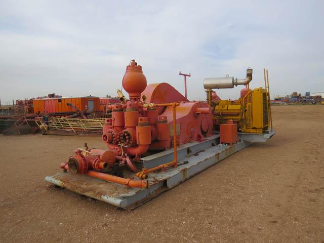 C.EMSCO DB-550 Duplex Pump
