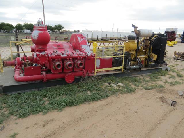 RS-500 Pump / CAT C-18 - Bridges Equip Rigup