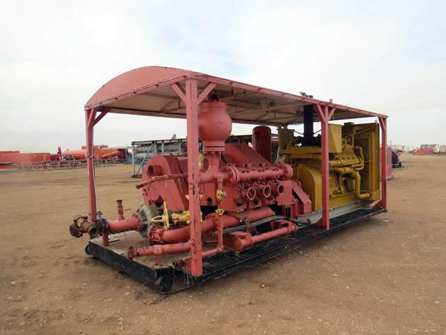C.EMSCO F-500 Triplex Pump