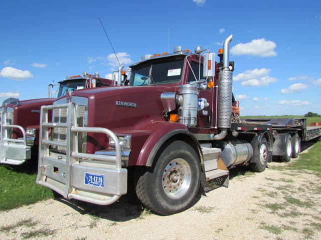 KENWORTH T-800 3-Axle Winch Truck – DY1 YD3