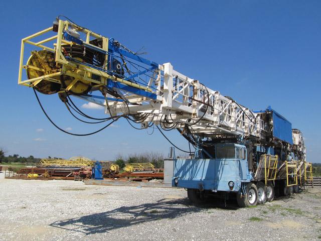 IDECO H-1000 Drilling Rig – DY2 YD1
