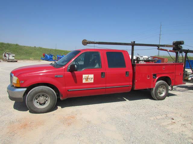 '99 FORD F-350 Wireline Truck – DY1 YD1