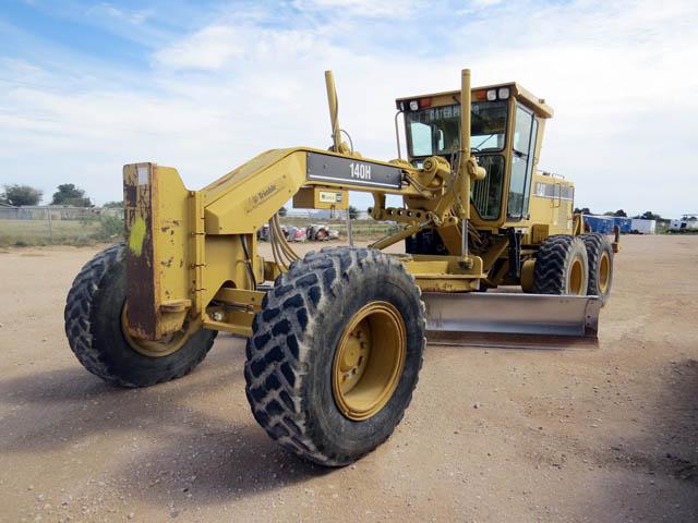 CAT 140H Motor Grader – DY2 YD1