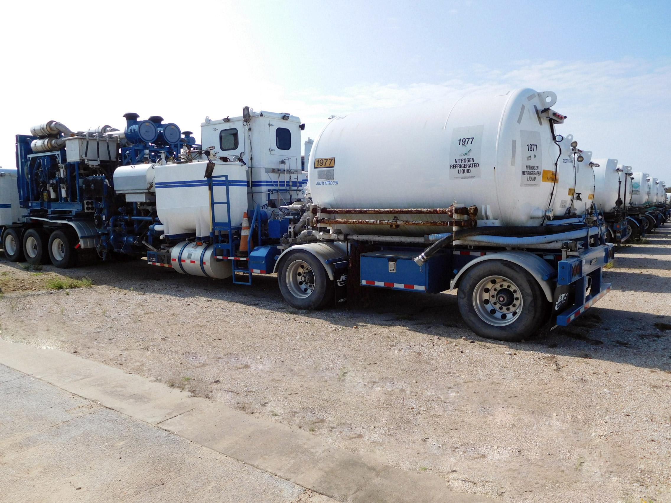 Nitrogen Pumping Trailer – DY2 YD5