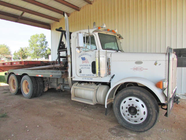 '98 PETE 379 T/A Rig Up Truck – DY1 YD4