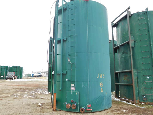 (1of 27) 400-Bbl Skidded Production Tank – DY1 YD14