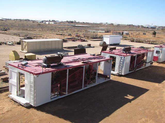 (2) BSF-800 Triplex Pumps – YD7