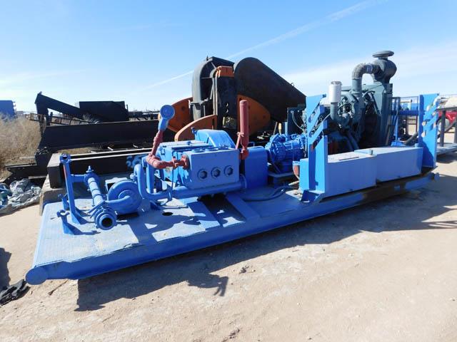 NATIONAL JWS-340 Triplex Pump – YD1