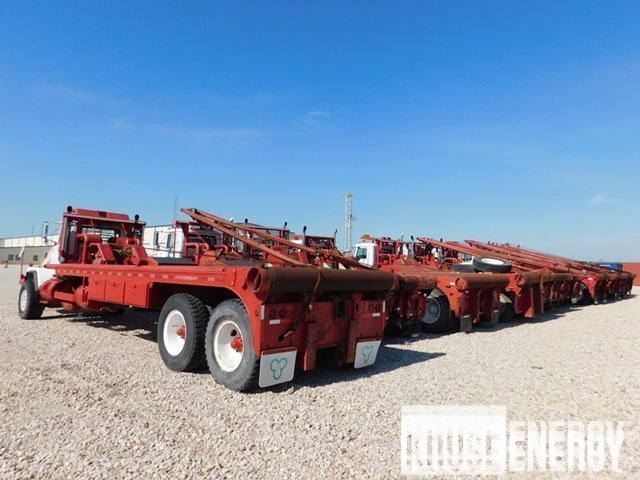 Oilfield Rig-Up Trucks – DY2 YD13