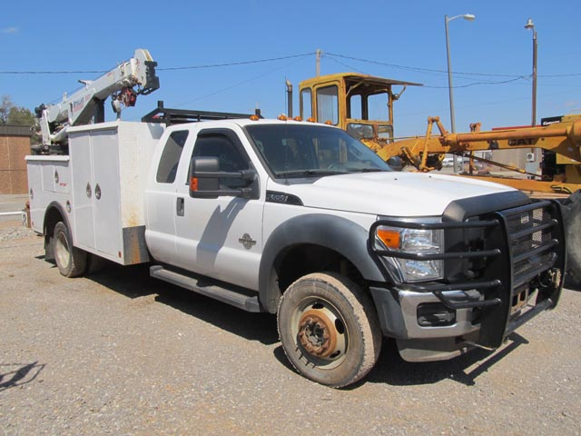 '12 FORD F550 4x4 Service Truck – DY2 YD2