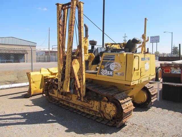 2006 KOMATSU D-39EX Crawler Tractor/Side Boom – DY2 YD2