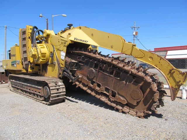 '06 VERMEER T-955 Trencher w/1,679 Hours – DY2 YD2